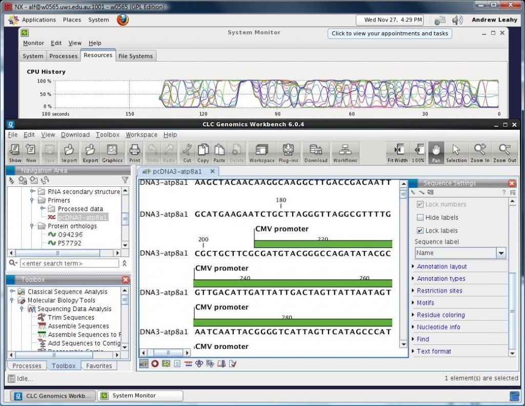 CLC Genomics Workbench Desktop